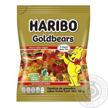 Цукерки желейні Haribo Золоті ведмедики 150г - купити, ціни на МегаМаркет - фото 1