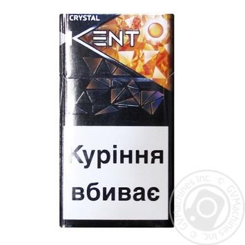 Цигарки Crystal Beat KENT - купити, ціни на Novus - фото 1