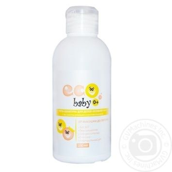 Acme-color Eco Baby 0+ Gel Shampoo with Chamomile and Wheat 250ml - buy, prices for Novus - photo 1