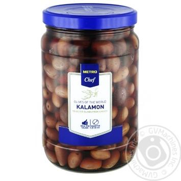 Оливки METRO Chef Kalamon с косточкой 1,7л