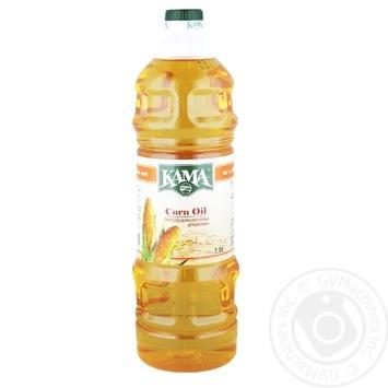 Масло Кама кукурузное рафинированное дезодорированное 1л - купить, цены на Novus - фото 2