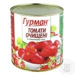 Hurman in own juice peeled tomato 2600g