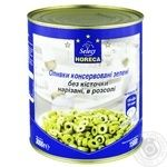 Horeca Select canned pitted green olive 3000g