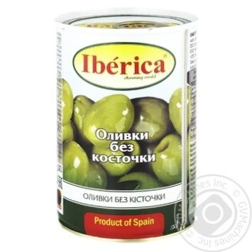 Iberica Pitted Green Olives 420g