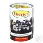 Iberica Large Boneless Black Olives 420g