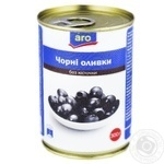 Aro without bone black olive 300g
