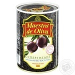 Maestro de Oliva Pitted Black Olives 425g - buy, prices for Novus - image 1