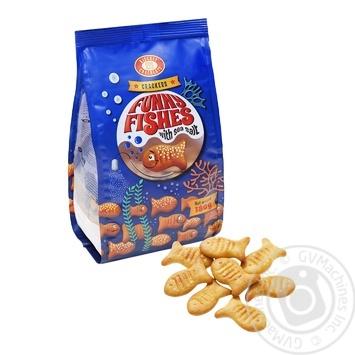 Cracker Funny Fishes 180g - buy, prices for Furshet - image 1