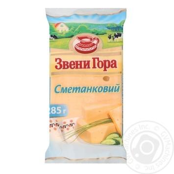 Сир Звени Гора Сметанковий твердий 50% 285г - купити, ціни на Восторг - фото 3