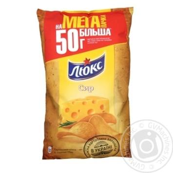 Чипсы Люкс со вкусом сыра 183г