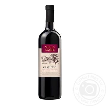 Вино Villa Mare Casaletto полусладкое красное 750мл - купить, цены на Novus - фото 1