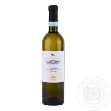 Вино Мио Бьянко Пьемонт Италия 13% 0.75л - купить, цены на Фуршет - фото 1