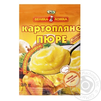 Пюре Эко Велика ложка картофельное с курицей 30г