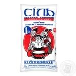 Соль каменная Козаченьки кухонная пищевая йодированная 1кг - купить, цены на Novus - фото 1