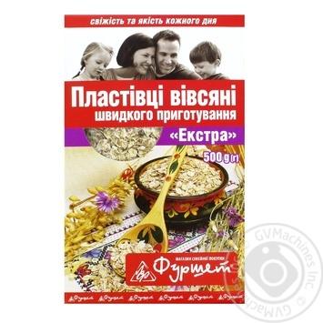 Хлопья овсяные Фуршет 500г Украина - купить, цены на Фуршет - фото 1