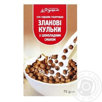 Шарики шоколадные Фуршет 75г - купить, цены на Фуршет - фото 1