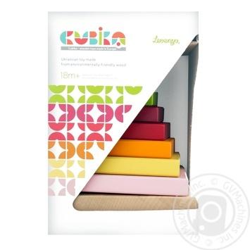 Іграшка пірамідка Левеня 12329 - купити, ціни на Фуршет - фото 1