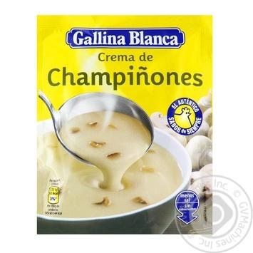 Gallina Blanca Mushroom Puree Soup 62g - buy, prices for Furshet - image 1