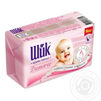 Крем-мыло Шик Детское с масляными экстрактами 5х70г