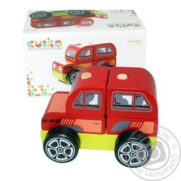 Машинка Cubika Внедорожник Левеня 13180 - купить, цены на Фуршет - фото 1