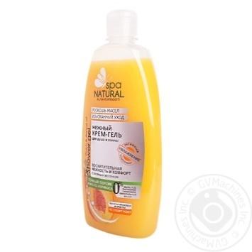 Гель для душа Spa Natural Персик-абрикос 500мл - купить, цены на Фуршет - фото 1