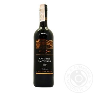 Sun Gate Cabernet Sauvignon Red Wine 12.5% 0.75l - buy, prices for Furshet - image 1