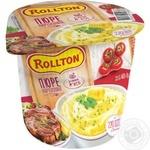 Пюре Роллтон картофельное со вкусом мяса 37г