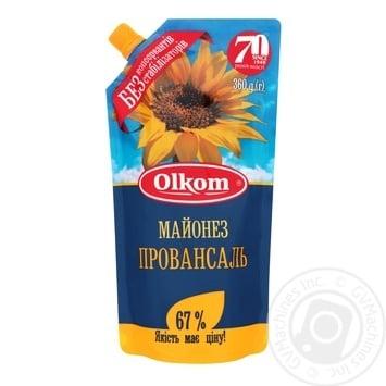 Майонез Олком Провансаль 67% 360г - купити, ціни на Novus - фото 1