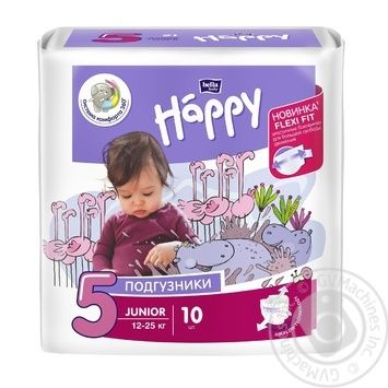 Bella Happy Junior Baby Diapers