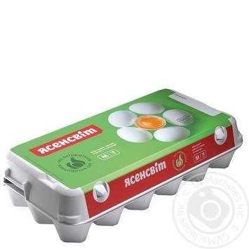 Яйца куриные Ясенсвит С1 18шт - купить, цены на МегаМаркет - фото 1