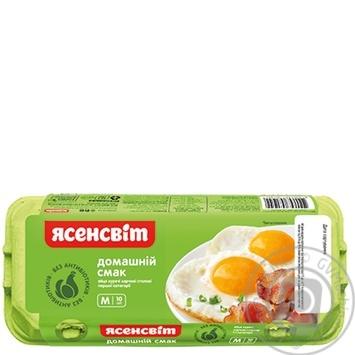 Яйцо куриное Ясенсвит Домашний Вкус С1 10шт - купить, цены на Novus - фото 3