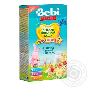 Мюсли Bebi Junior вишня банан молоко 200г - купить, цены на Фуршет - фото 1
