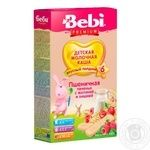 Dry instant milk porridge Bebi wheat cookies with raspberries and cherries for 6+ month babies 200g