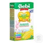 Каша Bebi Premium кукурузная низкоаллергенная 200г
