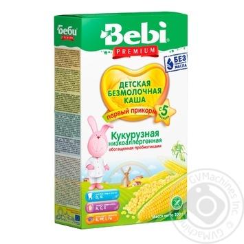 Bebi Premium corn porridge 200g - buy, prices for Novus - image 1