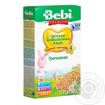 Bebi dairy-free buckwheat porridge 200g - buy, prices for Furshet - image 1