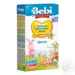 Каша Bebi Premium молочная гречневая 200г