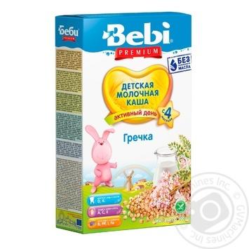 Каша Bebi Premium молочная гречневая 200г - купить, цены на Novus - фото 1