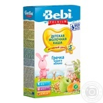 Baby porridge Bebi Premium buckwheat apple dry apricots for 5+ months 200g