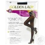 Колготи Golden Lady TONIC 70 nero 5-XL