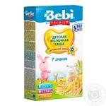 Baby milk porridge Bebi Premium 7 grains for 6+ months babies 200g