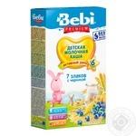 Bebi Premium 7 cereals Porridge with blueberries 200g