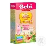 Bebi Premium For Children From 6 Months Oat With Cookies-Apple-Cherry Milk Pap 200g