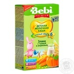 Bebi Premium for children from 6 months rice with carrot pap 200g