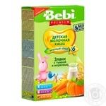 Каша Bebi Premium рисовая с тыквой и морковью 200г - купить, цены на Фуршет - фото 1