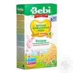 Bebi Premium For Children From 4 Months Rice Pap 200g - buy, prices for Novus - image 1