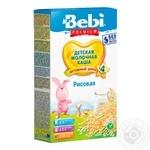 Dry instant milk porridge Bebi rice for 4+ month babies 8-9 portions 250g