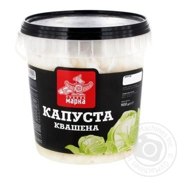 Салат Чудова Марка Капуста квашена 900г - купити, ціни на Novus - фото 1