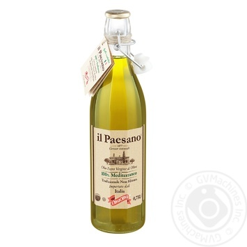 Олія оливкова il Paesano Diva Oliva нефільтрована 0,75л - купити, ціни на Ашан - фото 1