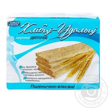 Хлебцы Удальцы пшенично-овсяные для диабетиков 100г
